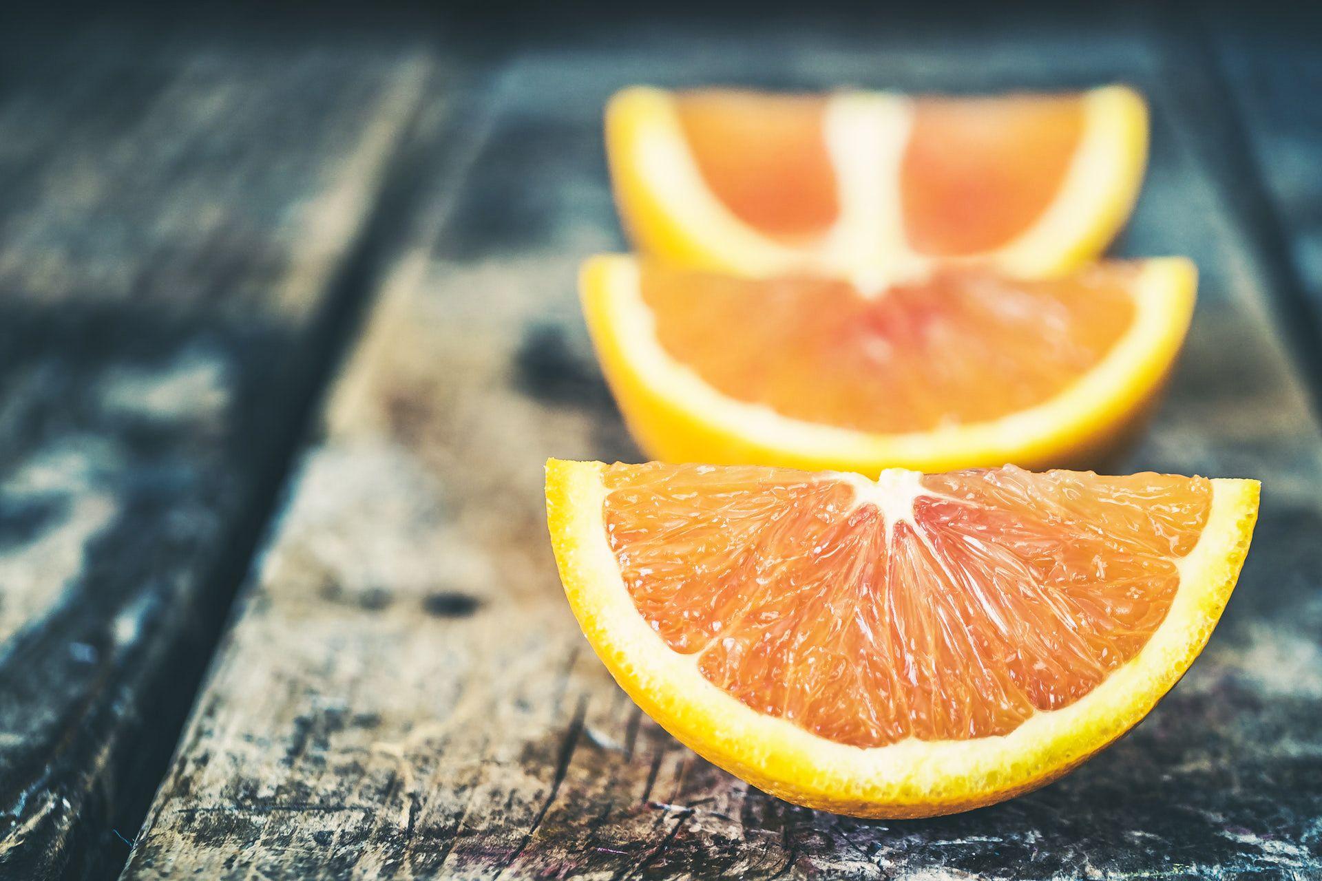 Orange Challenge Background