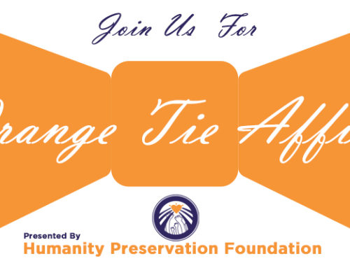 Join Us April 13th for the 1st Annual Orange Tie Affair