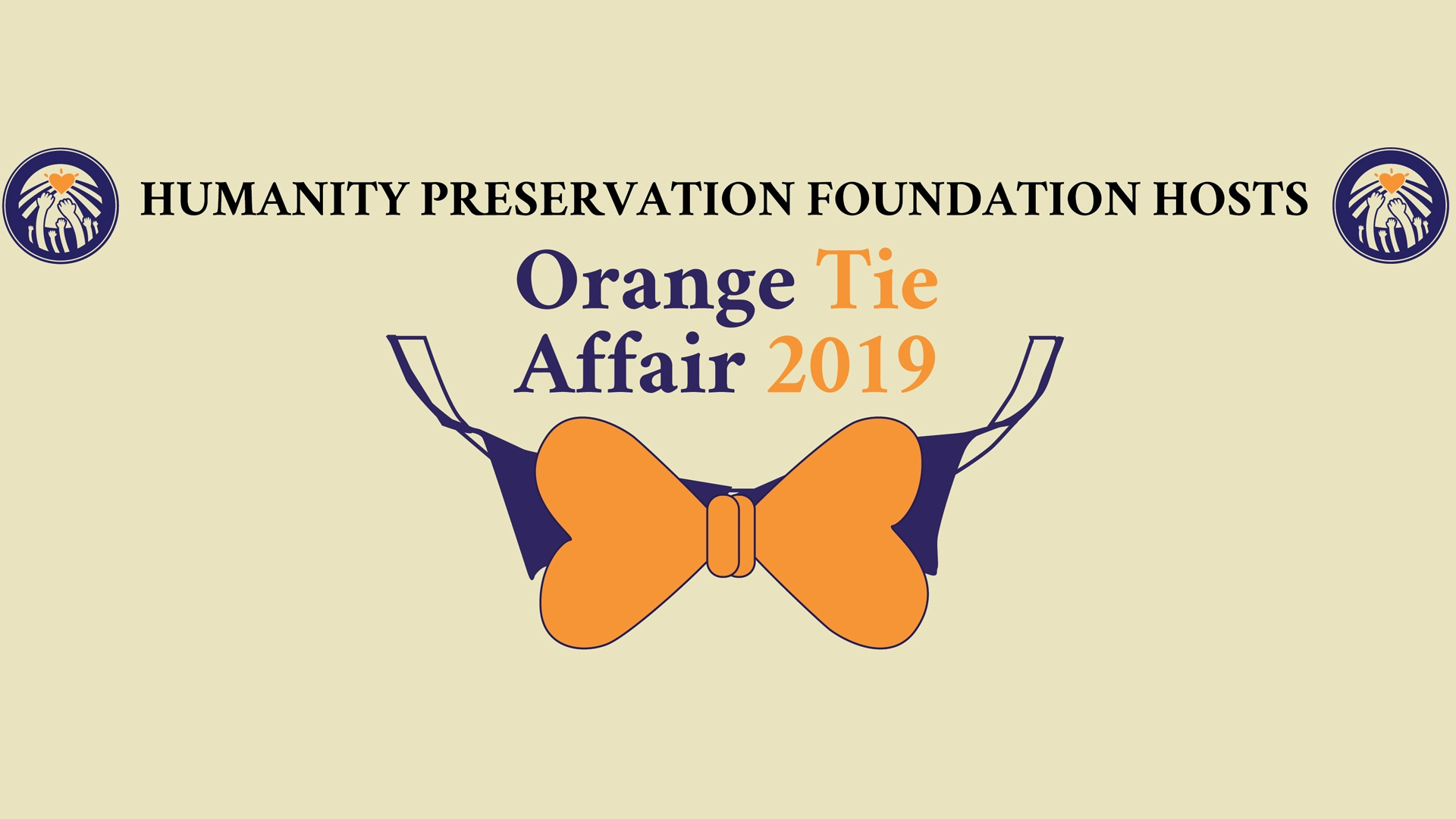 Orange Tie Affair 2019 Banner